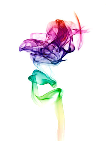 Abstract color smoke  photo