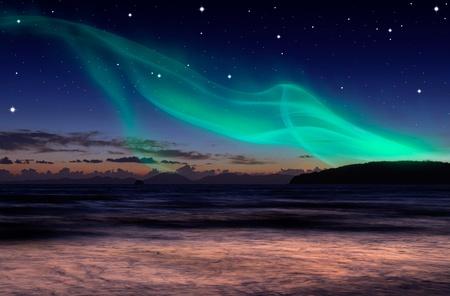 polar lights: Aurora