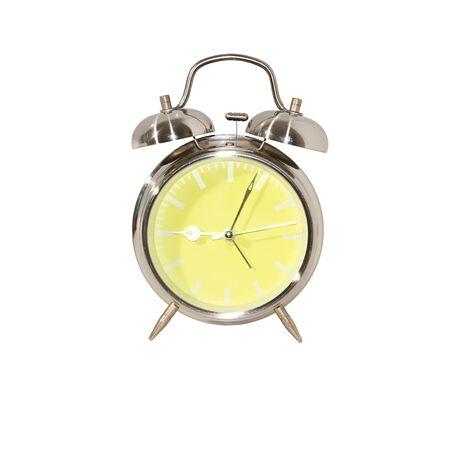 Yellow clock Stock Photo - 9310462