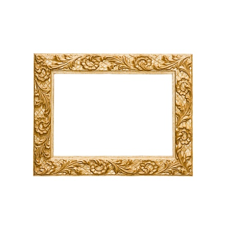 Small Gold picture frame photo
