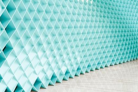Blue walls, a new design  photo