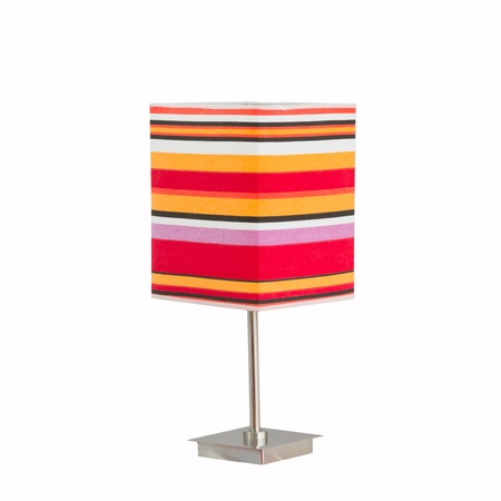 lamp shade: Lamp