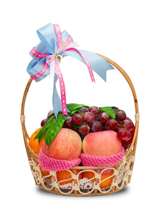Fruit basket  photo