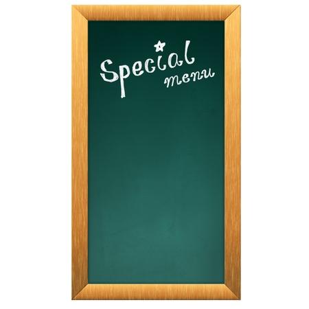 special menu blackboard photo