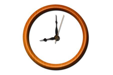 clock hands: Wooden clock