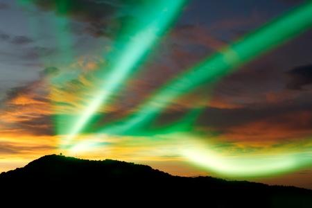 aurora borealis: Aurora