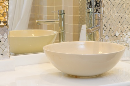 wash dishes: Basin