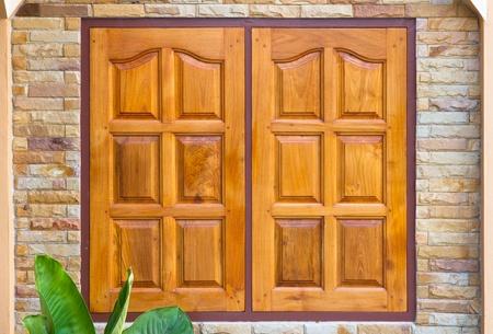window wood Stock Photo - 14091396