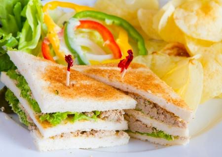 sandwich spread: Tuna sandwich