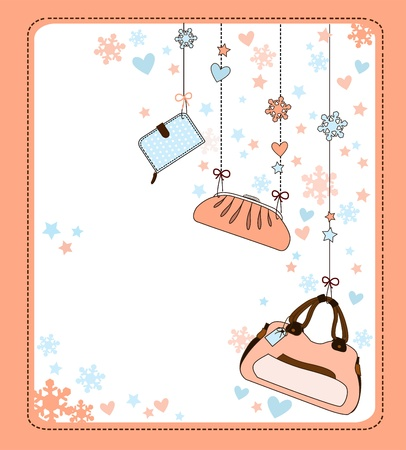 women bag Vector