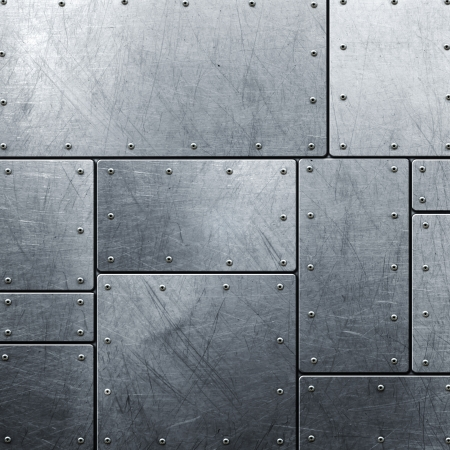 silver bars: Metal background