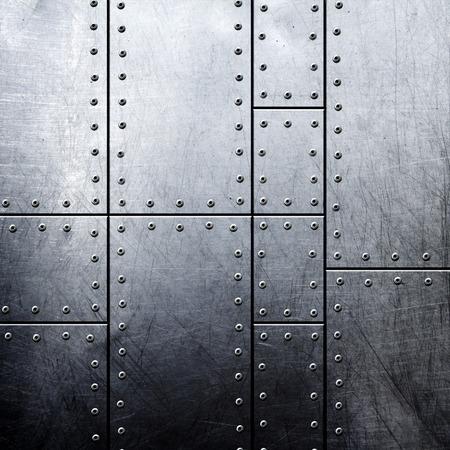screw: metal background