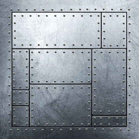 metal grunge: metal background