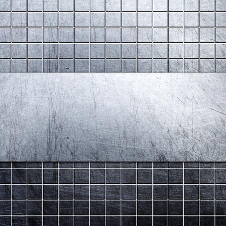 aluminium: metal background