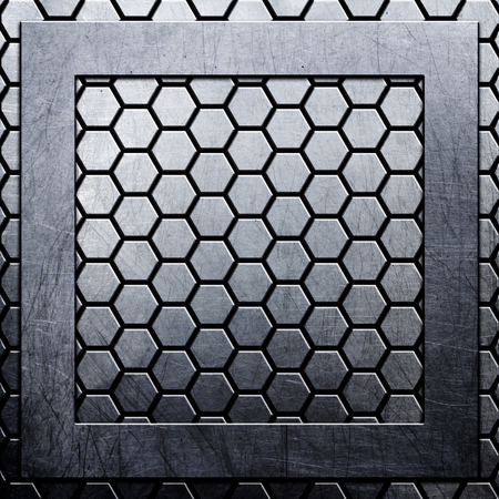 silver texture: metal background