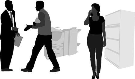 cellphone: Cellphone Handshaking Illustration