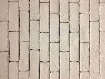 White wall bricks Foto de archivo - 111679123