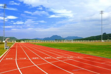 running track: athletic
