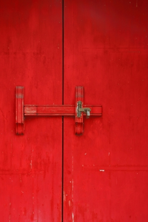 China Red Door  photo