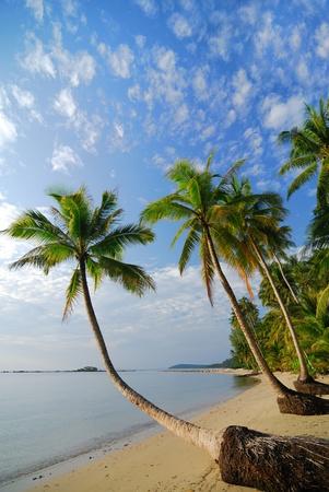 trad: beautiful beach in trad province ,Thailand Stock Photo