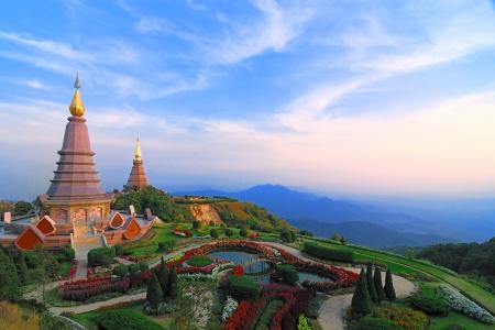 ドイ ・ インタノン Chiangmai タイ