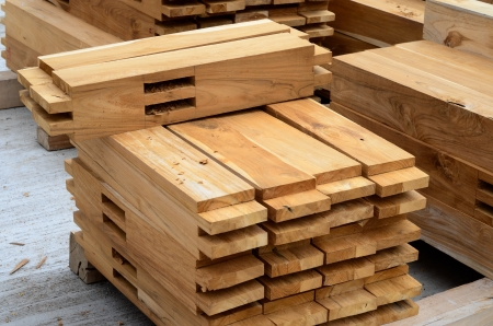 Component of Teak wood roof structure Stock Photo - 21503008