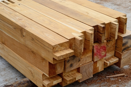 Component of Teak wood roof structure Stock Photo - 21503027
