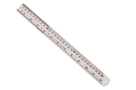 millimetre: Steel ruler