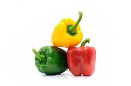 Colorful of Sweet peppers photo