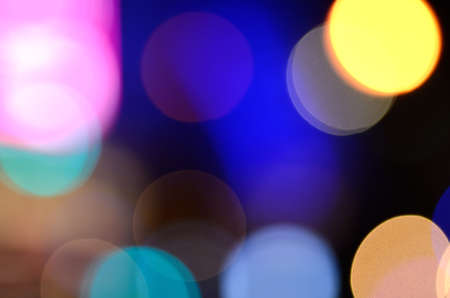 lighting background: Abstract colorful lighting in pub as background