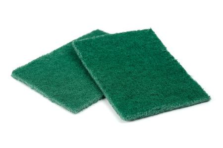 scrubber: scrubber pad