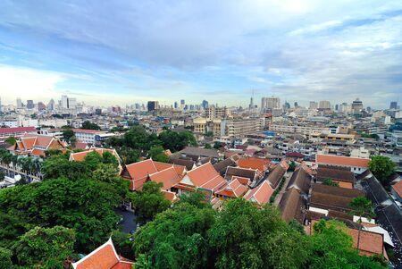 good morning: Good Morning Bangkok city of Thailand