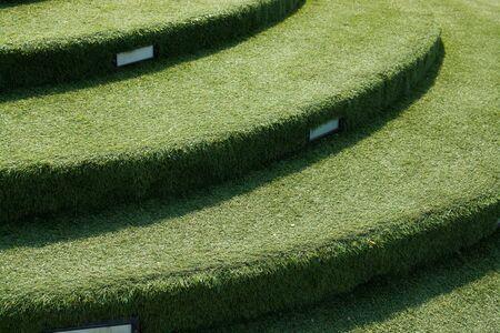 stairs structuur ontwerp cover van kunstgras