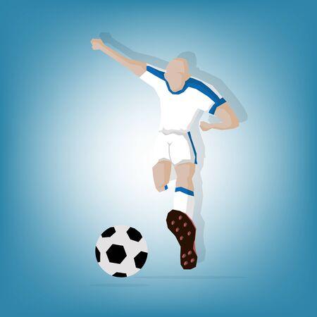 wales: Wales Mascot football player Illustration