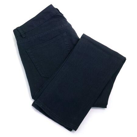 Black jeans Stock Photo