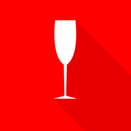 wineglass: glasses for cocktails, wine, vodka Illustration