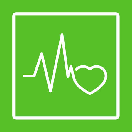 good health: Good health good heart. Healthy sign vector design. Illustration
