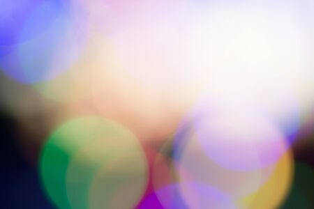 newyear: Christmas and Newyear season reflect bokeh of lighting as abstract background