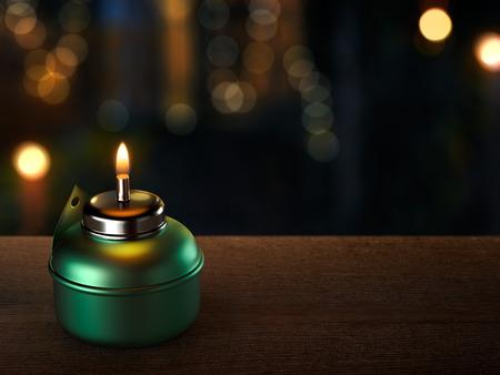 candil: Ramadán Velón