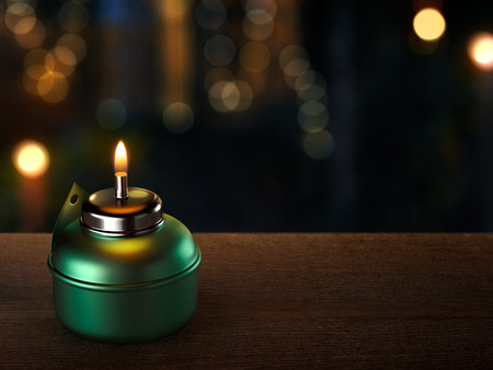 hari raya aidilfitri: Ramadan Oil Lamp Stock Photo