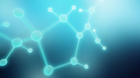 holographic: Holographic atomo molecola Archivio Fotografico