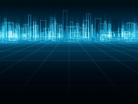 Holographic city