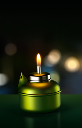 oil lamp: Ramadan Oil Lamp Stock Photo