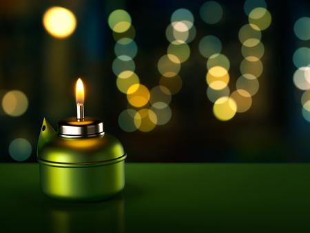 ラマダン オイル ランプ