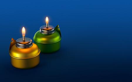 Ramadan Oil Lamp Zdjęcie Seryjne