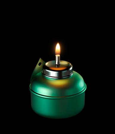 candil: Ramad�n Vel�n aislado Foto de archivo