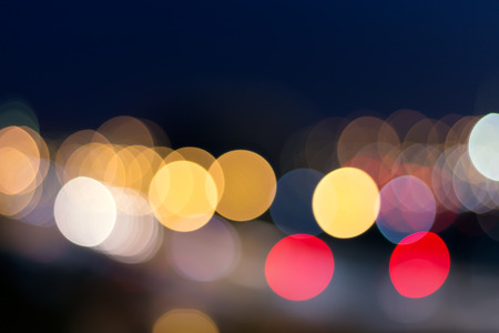 busy city: Blurred busy city