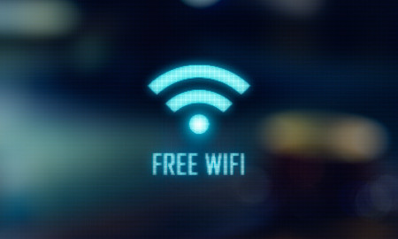 LED Display - Free wifi signage