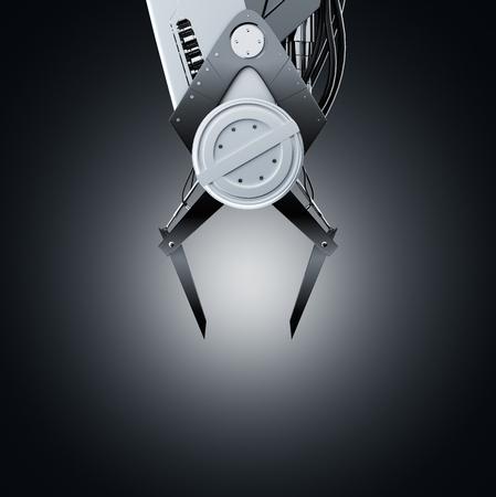 grabber: Claw machine close up Stock Photo