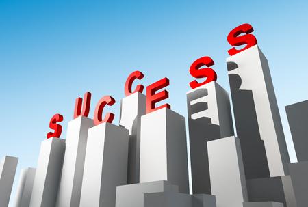 success concept: Success, Business Concept